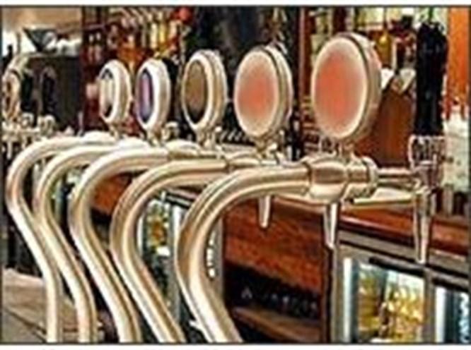 Musluktan bira aktı